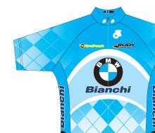 BMW Bianchi Elite Cycling Team Uniform