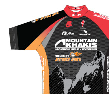 Mountain Khakis Professional Cycling Team Uniform