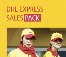 DHL Sales Pack Website/Application