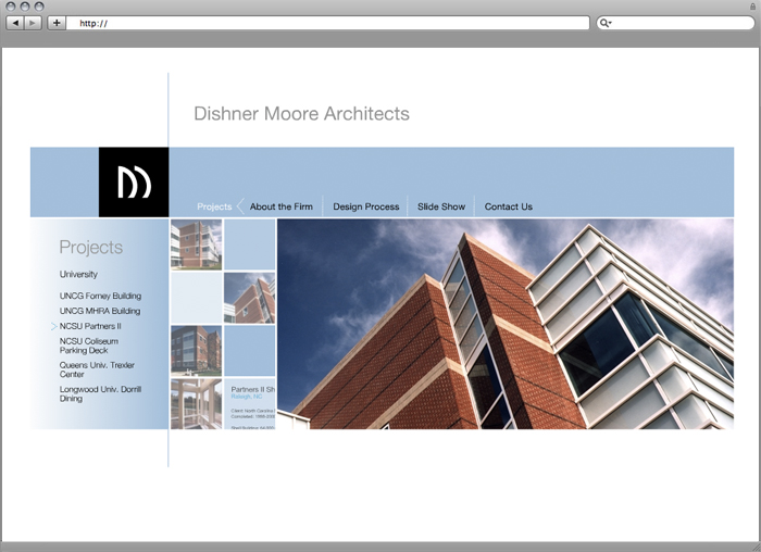 Dishner Moore Website