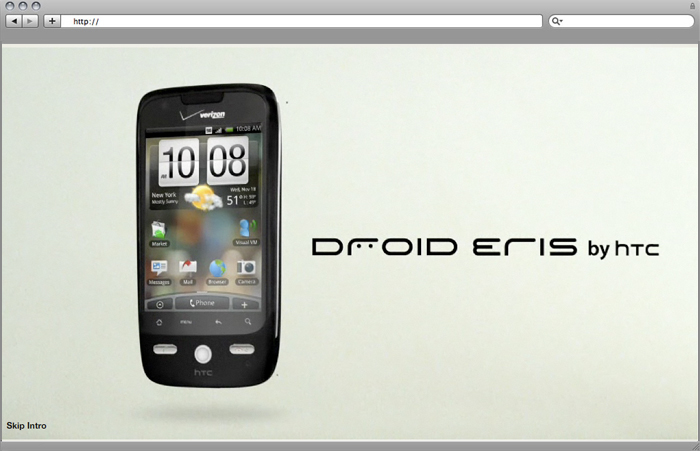 Droid Eris Training Site/Application