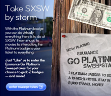 SXSW Facebook Contest